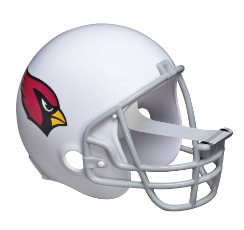 Scotch Magic Tape Dispenser, Arizona Cardinals Football Helmet with 1 Roll of 3/4 x 350 Inches Tape