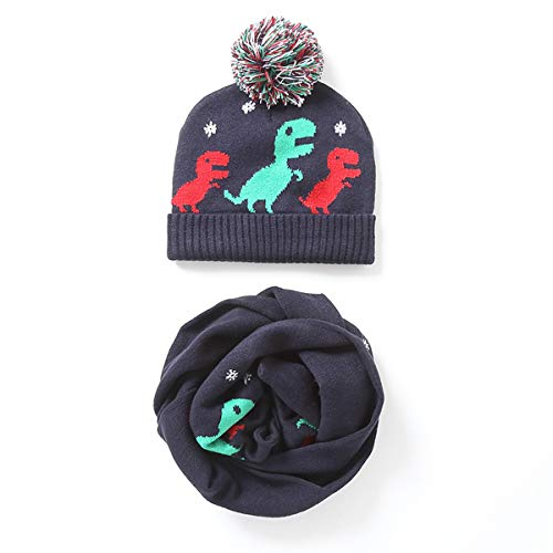 822cefd2adf61c Baby Grils Boys Winter Scarf Kids Dinosaur Style Knit Warm Scarves Toddler  Cartoon Dinosaur Thick Scarf