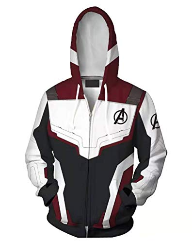 MaeFte The Avengers Hoodie Pullover Sweater Jacket Coat (S, Style 1)