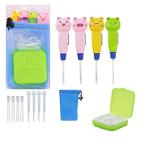 Ear Cleaner,Ear Cleaning Kit Ear Wax Removal Tool Baby Kids