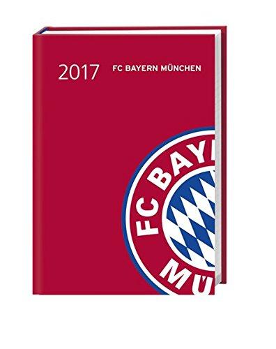 FC Bayern München 17-Monats-Kalenderbuch A6 - Kalender 2017