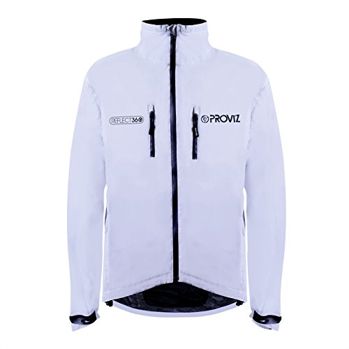 Proviz Reflect360 Womens Cycling Jacket, Fully Reflective...