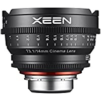 Rokinon Xeen XN14-N 14mm T3.1 Professional Cine Lens for Nikon (Black)