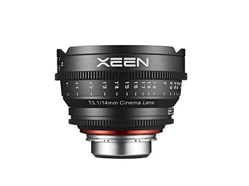 Rokinon Xeen XN14-NEX 14mm T1.5 Professional Cine Lens for Sony E Mount Interchangeable Lens Cameras (Black)