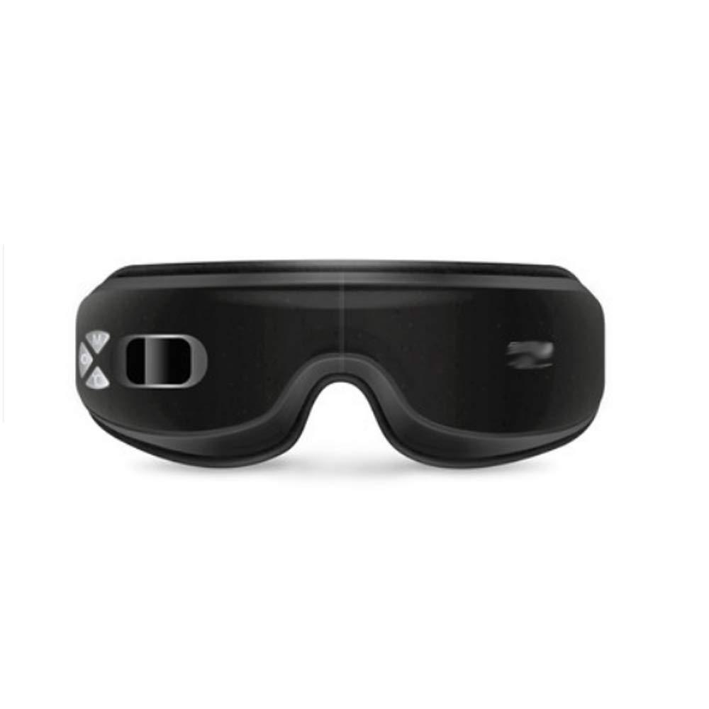 マッサージャー 黒 - ダークサークルマッサージャーにアイマスクの目の疲れを和らげます (色 : (色 - 黒) B07MX1MB11 黒, カンナベチョウ:26558731 --- lembahbougenville.com