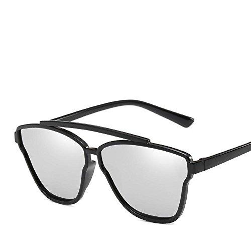 Aoligei Tendance de mode européenne de lunettes de soleil ronde frame lunettes de soleil fashion color film lunettes Sj2psezA3