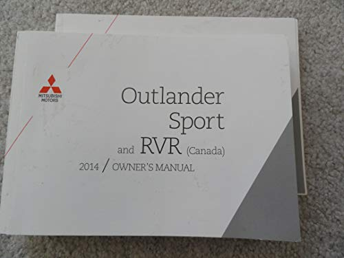 Outlander Motors Mitsubishi (2014 Mitsubishi Outlander Sport Owners Manual)