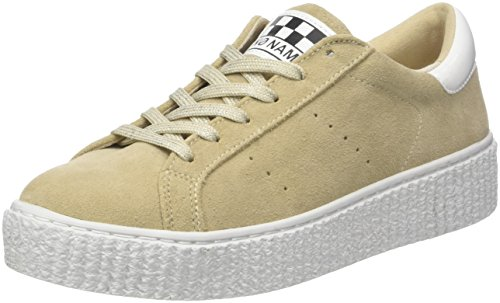 Sneaker Beige sable Basse Suede Donna Noname Picadilly RpnqfwfT