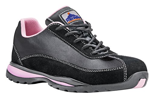 Portwest Trainer Safety Ladies SB Black Pink gqOrg