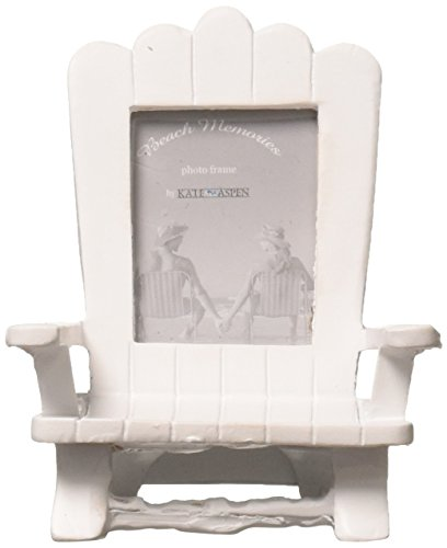 "Kate Aspen ""Beach Memories"" Miniature Adirondack Beach Chair Place Card/Photo Frame Holder, Party Favor, Gift (Set of 4)"