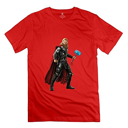 StaBe Adult Thor Age Of Ultron Avengers T-Shirt Short Sleeve Cool