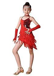 Sparkling Sequin Double Tassel Dancing Dress