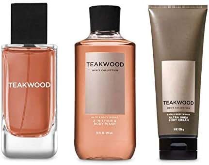 Teakwood Cologne, 2 in 1 Hair + Body Wash & Body Cream