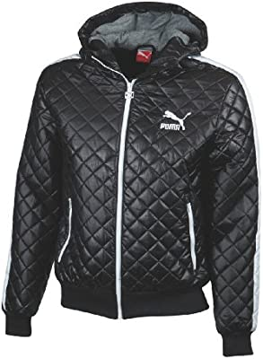 a4eb4a55a83 Puma Me Men's Padded Jacket Black black Size:XL: Amazon.co.uk: Sports &  Outdoors