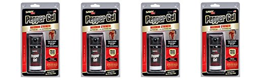 Price comparison product image SABRE Red Pepper Gel - Police Strength - Tactical Series with wKMcwB 18-Foot (5.5M) Range