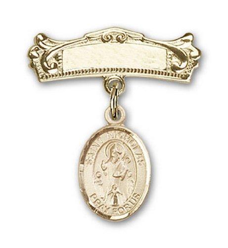Icecarats Or Bijoux De Créateurs Rempli R. Nicholas Charme Broches Badge Arc 7/8 X 3/4