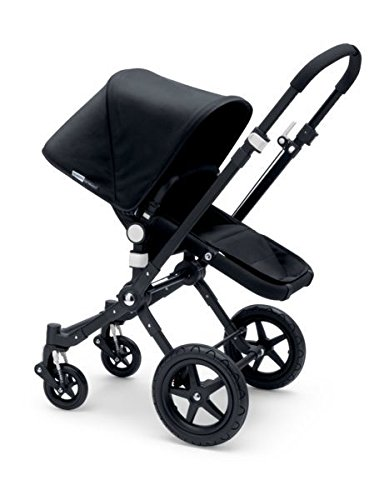 Bugaboo 2015 Cameleon3 Stroller Complete Set in Black on Black
