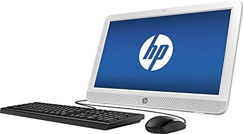 HP Premium All-in-One Desktop PC 19.45-inch LED Backlight Widescreen HD+ Display, Intel Celeron N3050 1.6GHz, 4GB DDR3 RAM, 500GB HDD, DVD/CD Burner, windows 10 Pro (Certified Refurbished)