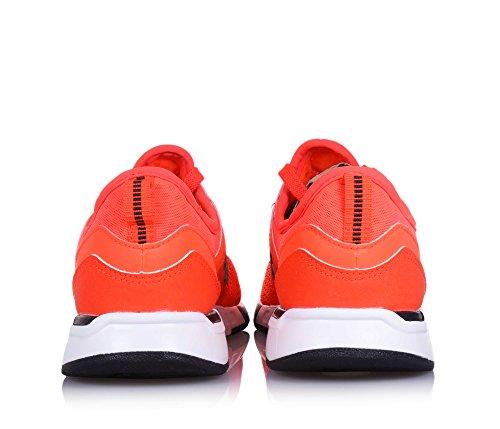 NEW BALANCE - Leuchtend orange Sportschuh 274 preschool mit Schnürsenkeln, aus Synthetik und Mikrofaser, Jungen
