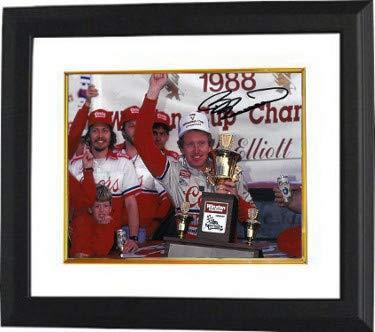 Bill Elliott Autographed Signed NASCAR 8x10 Photo Custom Deluxe Framed 1988 Winston Cup Champion ()
