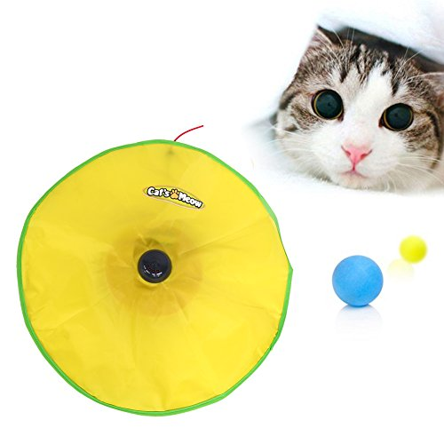 Cat's Meow Pet Toy,4 Speeds Generic Moving Undercover Mouse Fabric Electronic Boxed Interactive Kitten Pet Cat Toys