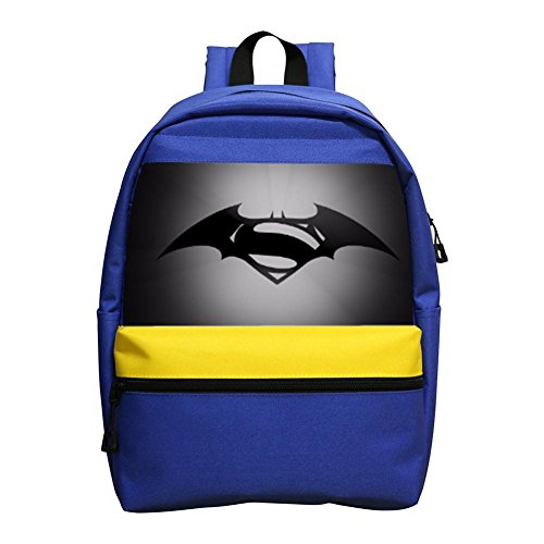 Superman And Batman Mini Backpack School Small Daypack For Little Girls / Boys