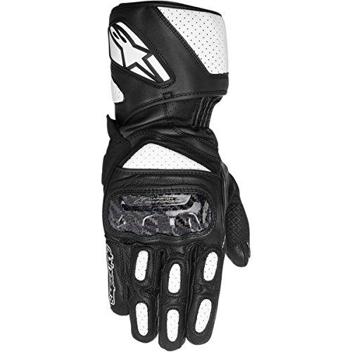 Alpinestars SP-2 Men's Street Motorcycle Gloves - Black/White / Large