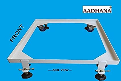 Fritha Enterprises Heavy Duty Front Load Washing Machine Stand For Samsung 7Kg Floor Trays