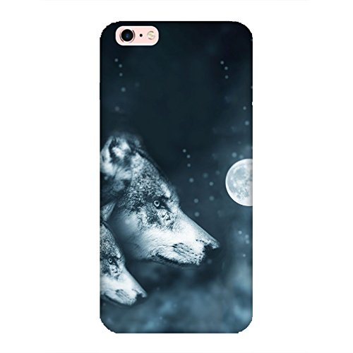 Coque Iphone 6 Plus-6s Plus - Loup Wolf Lune