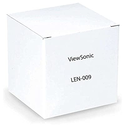 ViewSonic Accessary LEN-009 Standard throw lens for PRO10100 Throw ratio (1.26â??1.58) Retail by ViewSonic