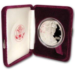1993-P 1 oz Silver American Eagle - (Proof) ()