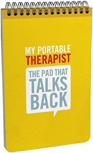 Knock Knock Portable Spiral Memo Pad, Therapist Personality (11200)
