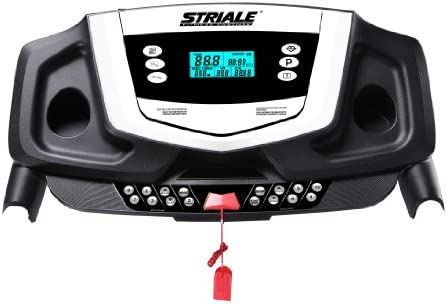 Striale ST-715 - Cinta de Correr para Fitness, Color Negro: Amazon ...