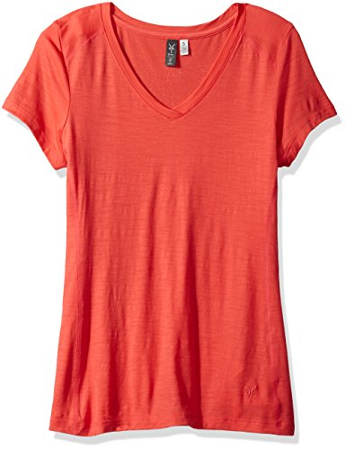 Ibex Outdoor Clothing All Day Tee, Watermelon, Medium