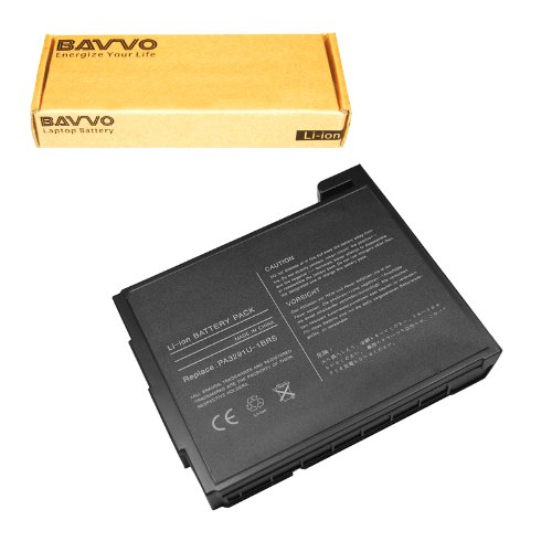 Bavvo 12-Cell Battery for TOSHIBA PA3291U-1BRS (Pa3291u Laptop 1brs)