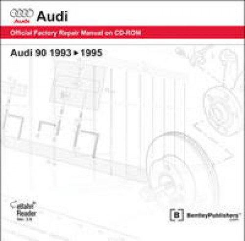 A905 Audi 90 1993-1995 Repair Manual on CD-ROM