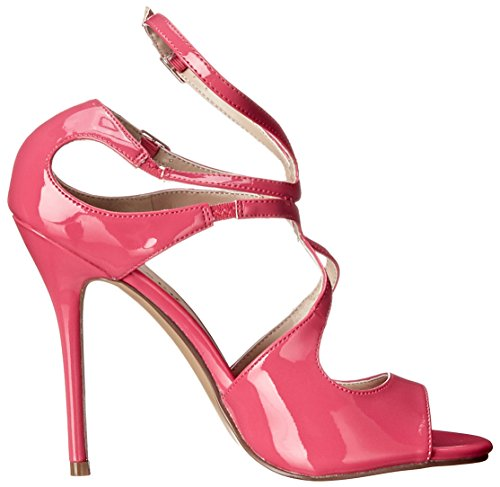 PleaserAmu15/b - Zapatos de Tacón Mujer, H. Pink Pat, 35