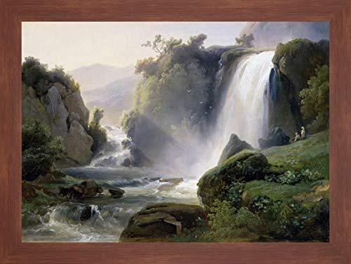 Tivoli Waterfall by Jean Charles Joseph Redmond - 15