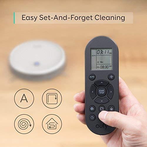 Comes with a remote control eufy [BoostIQ] RoboVac 11S