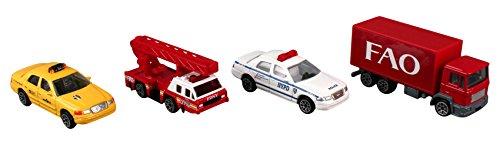 - Daron Worldwide Trading FAO Schwartz New York City NYC 4 Vehicle Gift Pack