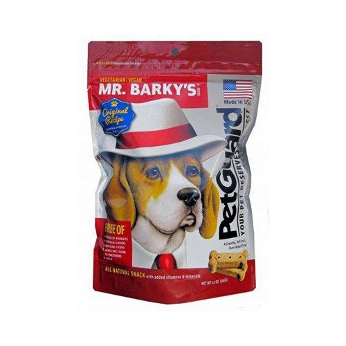 Bulk Saver Pack 18x12 OZ : PetGuard Vegetarian Dog Biscuit - Mr.Barky - 12 oz