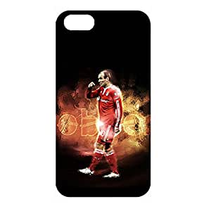 Classic Chelsea FC Design Chelsea Football Club Protect Skin Inimitable Back Case 3D Cover for Iphone 4/4s with Handsome Arjen Robben Print