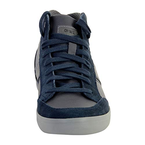 U Box Baskets Homme Navy Hautes Geox Bleu E Cf49a Anthracite qZUdwxF5B
