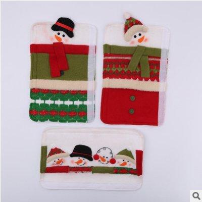 Amazon.com: Doolland Christmas Snowman Kitchen Appliance ...