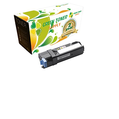 Green Toner SupplyTM Compatible Toner Cartridge Replacement for Dell 2135 (Yellow, 1-Pack) ()