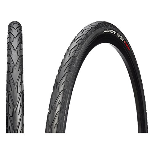 """29/"""" TWO HIGH QUALITY BLACK WHITE WALL STREET TIRES 700 X38 TIRES 40-622"""