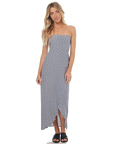 Fitted Blue Beach Bloom Swell Women's Dress Maxi Mosaic XCxYxZqwE