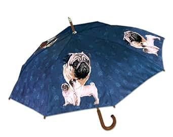 Pug Umbrella by LaSelva Designs