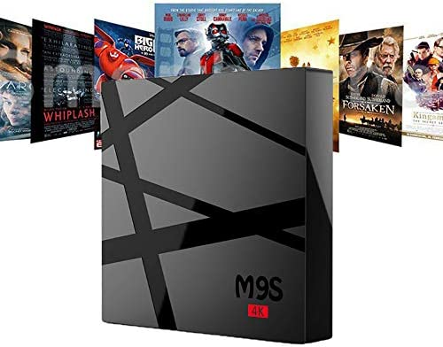 WXJHA M9S RK3229 4K Android Smart TV de Alta definición Cajas KD17.3 Android6.0 Smart TV Box 1G 8G 2.0G Hardware Película IPTV Media Player: Amazon.es: Hogar