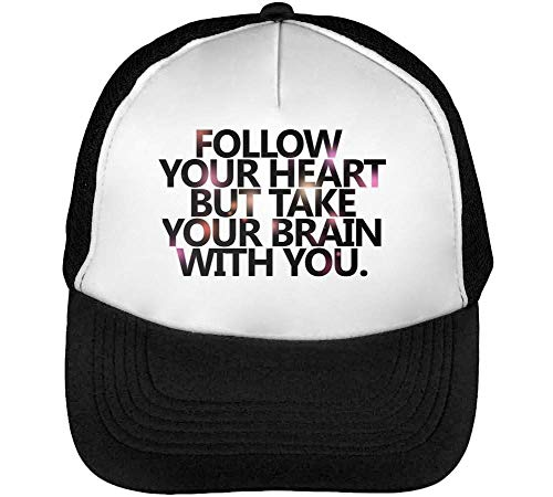 Heart You Hombre Take Snapback Series Expression Brain Romantic Follow Beisbol Blanco You But Gorras Your Negro 15wWcdcxRq